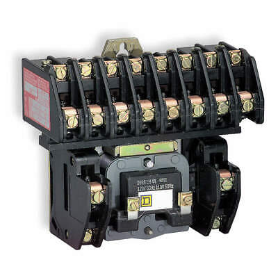SQUARE D Lighting Contactr,6P,277V,Open,ElecHeld, 8903LO60V04