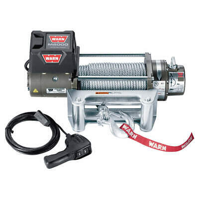 WARN Electric Winch,4-4/5HP,12VDC, 26502