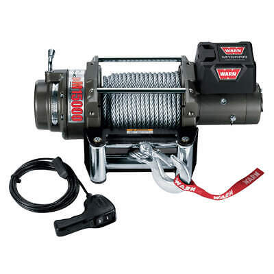 WARN Electric Winch,4-3/5HP,12VDC, 47801