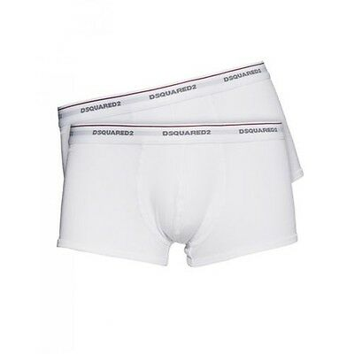 Dsquared2 pack 2 boxers white man