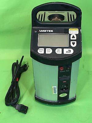 Ametek Jofra C-605 Advanced Temperature Dry Block Calibrator - Works Fine!