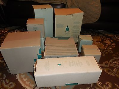Large Lot Of Partylite Candle Holders Items...... Wholesale.. New In Box`