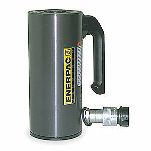 ENERPAC Cylinder,50 tons,3-15/16in. Stroke L, RAC504