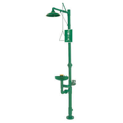 HAWS Shower and Eyewash Station, 8336, Green