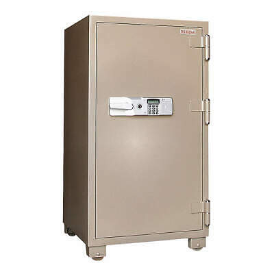 MESA SAFE COMPANY Steel Commercial Fire Safe,6.8 cu ft,Tan, MFS120E, Tan