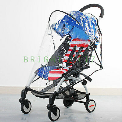 Quality Clear See-through Wind Rain Cover For Baby Stroller Pushchair Pram Buggy