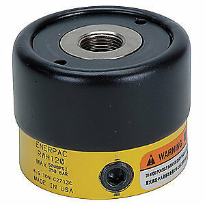 ENERPAC Cylinder,6 tons,1in. Stroke L, RWH121