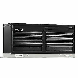 PROTO Steel Top Chest,Black,54in.W,23in.H,12 Drawers, J545419-12DB, Black
