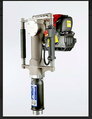 REDI BOSS Gas Powered Post Driver-Honda Motor- largest STL Barrel on the market!
