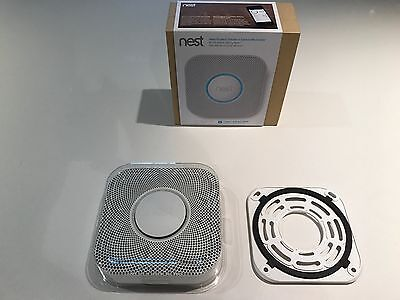 Nest Protect 1st Gen Smoke Detector and Carbon Monoxide Battery Powered