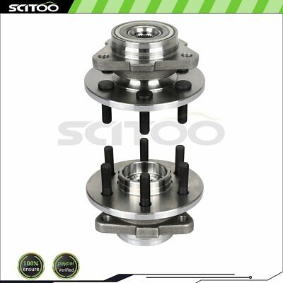 2 Front For Dodge DAKOTA DURANGO Wheel Hub Bearing AWD 4X4 PICKUP TRUCK