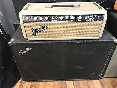 1964 Fender Bassman Blonde Brownface Amp 6G6 HEAD ONLY-FREE SHIPPING