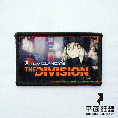 Anime design Patches IV0003A- The Division Moe Type (rectangle)
