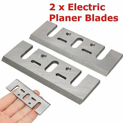 2PCS Electric Planer Spare Blades Replacement For Makita 1900B Power Tool GD