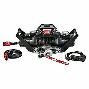 WARN Electric Winch,HP,12VDC, ZEON 10 - S MULTI MOUNT