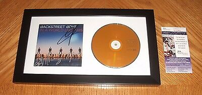 Backstreet Boys - In A World Like This CD *Band Signed* Framed! JSA Certified