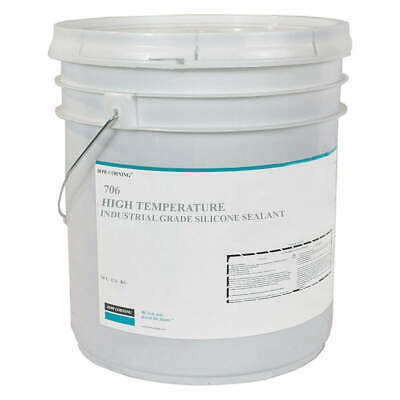 DOW CORNING High Temperature Sealant,5 gal.,Red, 3301273, Red