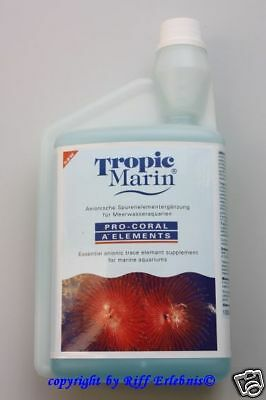 Tropic Marin Pro Coral A- Elements  1000ml Spurenelemente  27,95€/L