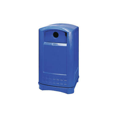 RUBBERMAID COMMERCIAL PRODU Recycling Container,Blue,50 gal., FG396873BLUE, Blue