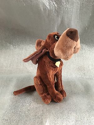 """Trusty Bloodhound Plush Disney Store Soft Toy from Lady and the Tramp 8"""""""