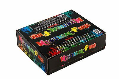 MYSTICAL FIRE (100 pkts) - Camping Novelty Fun Coloured Magical Campfire Flames