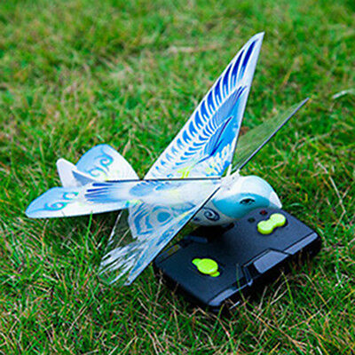 Flying Avitron Bionic Blue Bird Ornithopter RC Toy Flying Bird Remote Control