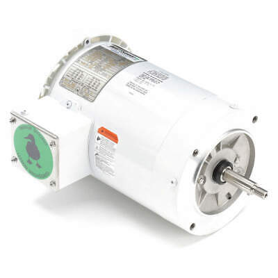 LEESON Washdown Motor,2 HP,Face,CWLE,3-Phase, 119460.00