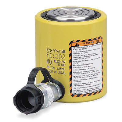 ENERPAC Cylinder,30 tons,2-7/16in. Stroke L, RCS-302