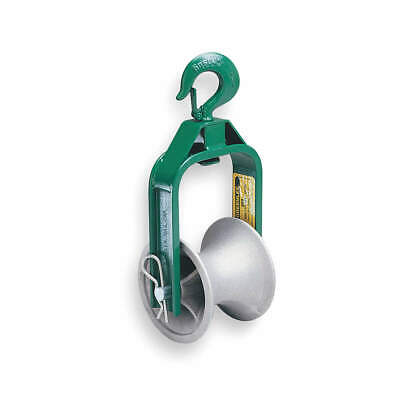 GREENLEE Cable Puller Sheave,Hook Type,24 In, 653
