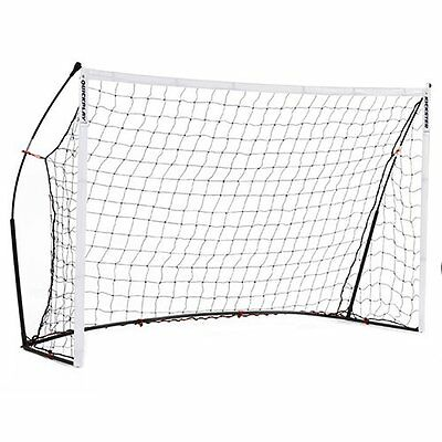 QUICKPLAY KICKSTER 8 x 5ft Fully Portable Goal 2.4m x 1.5m