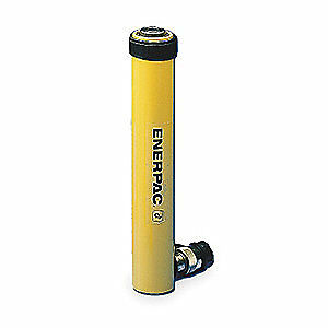 ENERPAC Cylinder,10 tons,14in. Stroke L, RC-1014