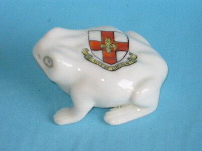 Florentine China Toad* - LINCOLN crest