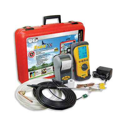 UEI TEST INSTRUMENTS Portable Combustion Analyzer,NO1 Sensor, C157KIT