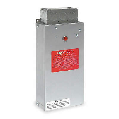 PHASE-A-MATIC Phase Converter,Static,8-12 HP, PAM-1200HD