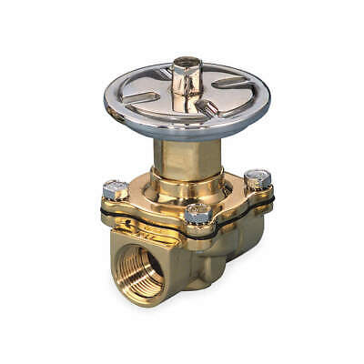 ASCO Air Operated Valve,2-Way,NC,3/4 In,FNPT, P210D095