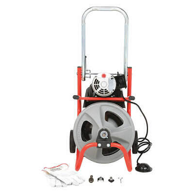 RIDGID Drain Cleaning Machine,1/2Inx75ft Cable, 26998