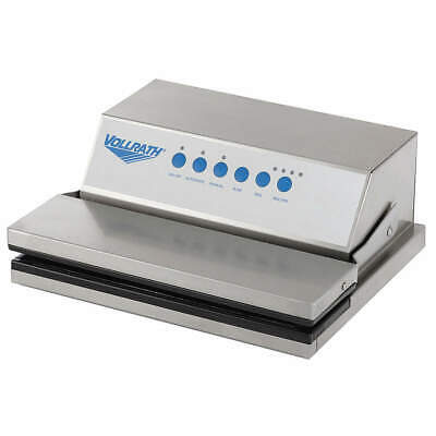 VOLLRATH Steel Out Of Chamber Vacuum,450 Watts, 40858