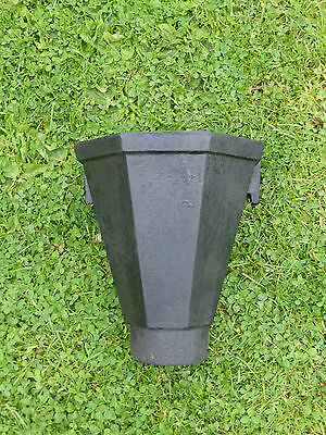 Vintage cast iron hopper head with Fixing Lugs. Ideal Planter or to use.