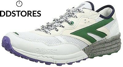 Hi Tec Badwater, Chaussures de Fitness homme, Blanc White Evergreen Purple...