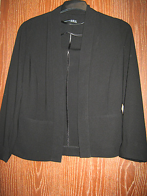 Atmosphere ladies jacket in black, size 10 in new condition