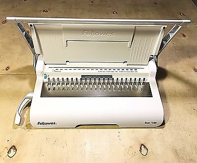 Fellowes Star+ 150 Manual Comb Binding Machine - Excellent Condition