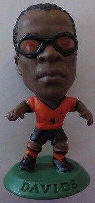 Edgar Davids 2001 Holland Football Corinthian Figure Green Base MC472, Ajax Juve