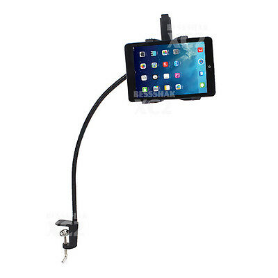 360° Rotating Gooseneck Desk Stand Mount For iPad Holder 2 3 4 Air Mini Tablet