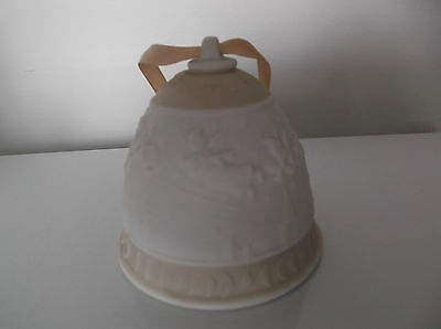 Collectable Lladro 1989 Christmas Bell