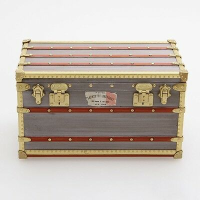 "LOUIS VUITTON rare paperweight ""SPECIAL FOR MEN TRUNK 1899"