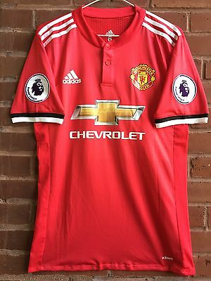 Manchester United David Beckham 2017/18 Player Version Jersey. Men's Size M, New