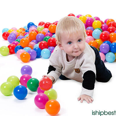 60pcs Kids Baby Soft Play Balls Toy for Ball Pit Swim Pit Ball Pool Colorful toy