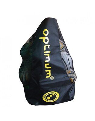 Optimum Sports Durable Drawstring Toggle Closure Mesh Premium Rugby Ball Carrier