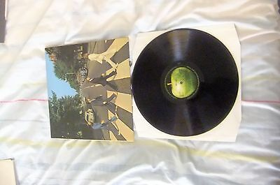 The Beatles  - Abbey Road 1st UK STEREO LP 1969 mis-aligned and no her Majesty