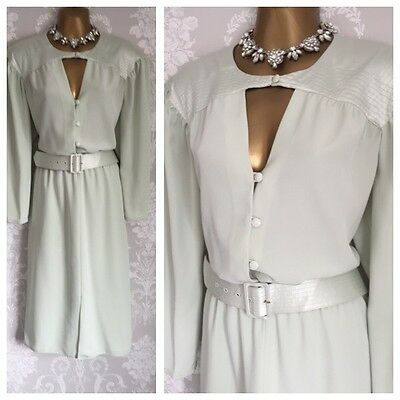 FRANK USHER Vintage DRESS SIZE 14 Wedding Mother Of The Bride Party Occasion